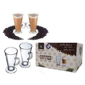 BOL TASSE CAFÉ POUR TASSE À THÉ EN VERRE  (Pour Tassim