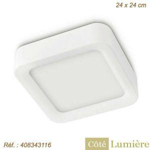 PLAFONNIER Lirio - Plafonnier carré Stimus LED - Philips