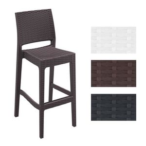 tabouret bar exterieur achat vente pas cher. Black Bedroom Furniture Sets. Home Design Ideas