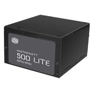 ALIMENTATION INTERNE Cooler Master Alimentation MasterWatt Lite 500 - 5