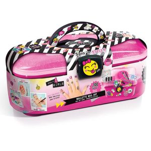 JEU DE MAQUILLAGE CANAL TOYS - ONLY 4 GIRLS - Mallette Nail Art