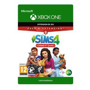 EXTENSION - CODE DLC Les Sims 4 : Chiens et Chats pour Xbox One
