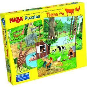 PUZZLE Puzzle 12 à 18 pièces : 3 puzzles les animaux