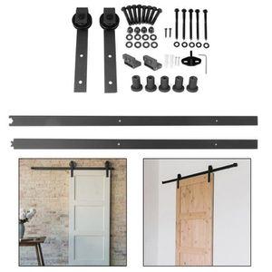 ARMOIRE DE CHAMBRE LESHP® Porte coulissante 200cm en bois design parf