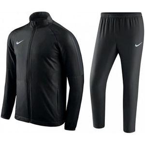 PANTALON Jogging Nike Swoosh Homme Noir Swoosh Blanc