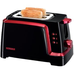 Grille pain toasters rouge achat vente pas cher cdiscount - Grille pain rouge pas cher ...