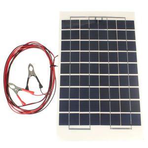 KIT PHOTOVOLTAIQUE TEMPSA 10W 12V cellules module Panneau solaire Cha