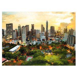 PUZZLE Puzzle 3000 pièces Coucher de Soleil à Bangkok