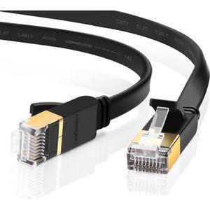 CÂBLE INFORMATIQUE UGREEN Plat Câble RJ45 CAT 7 Ethernet Haut Débit 1