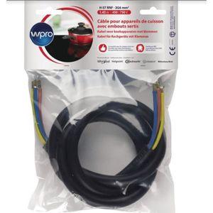 PIÈCE APPAREIL CUISSON WPRO CAB360/1 Câble Electrique 1.45m (> 5750 watts