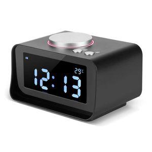 Radio réveil Réveil numérique FM Radio avec fonction haut-parle