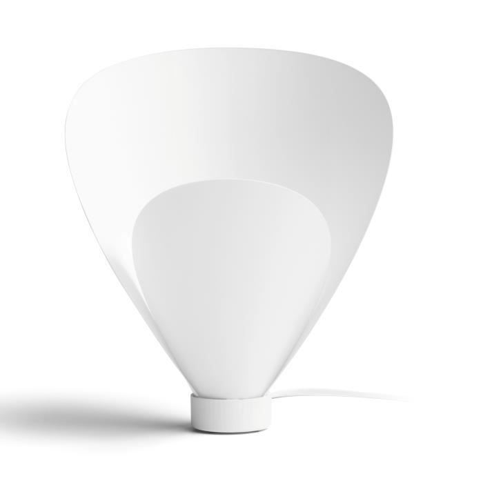 Philips Lampe Pine 1x60w Table Blanc De 29WeEHYbDI