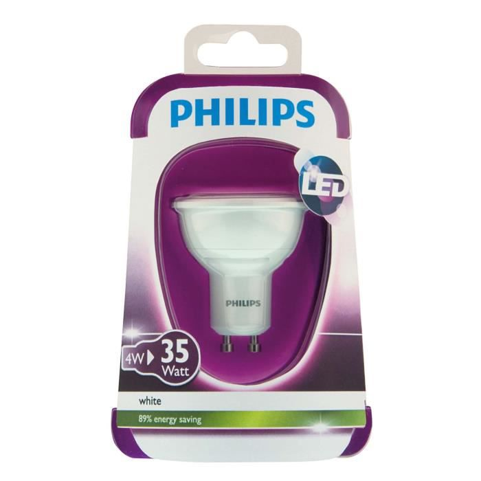 philips capsule ampoule led 35w gu10 230v 36d achat. Black Bedroom Furniture Sets. Home Design Ideas