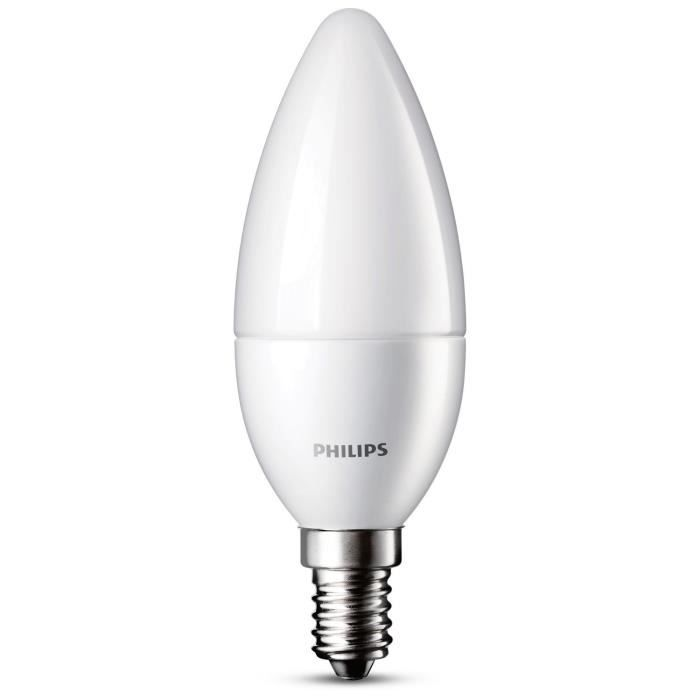 philips ampoule flamme led 25w e14 d polie achat vente ampoule led les soldes sur. Black Bedroom Furniture Sets. Home Design Ideas
