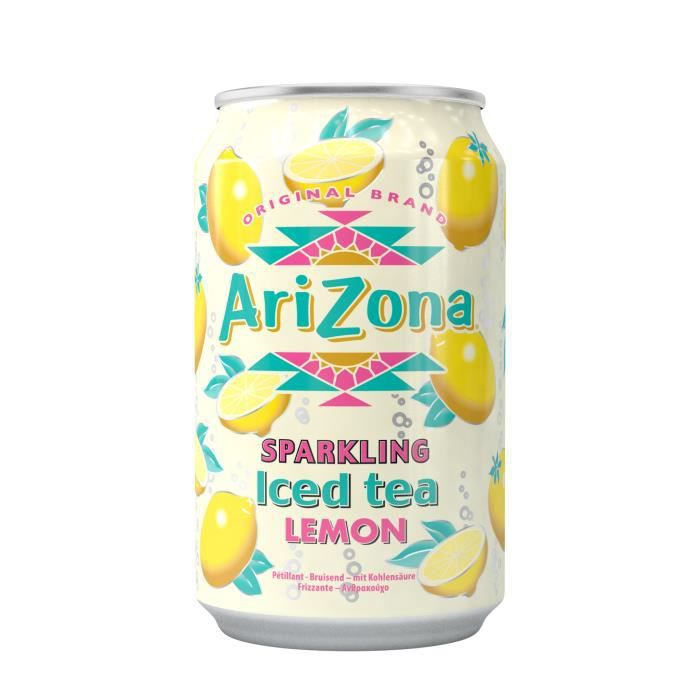 Arizona sparkling citron pétillant 33 cl x 24…