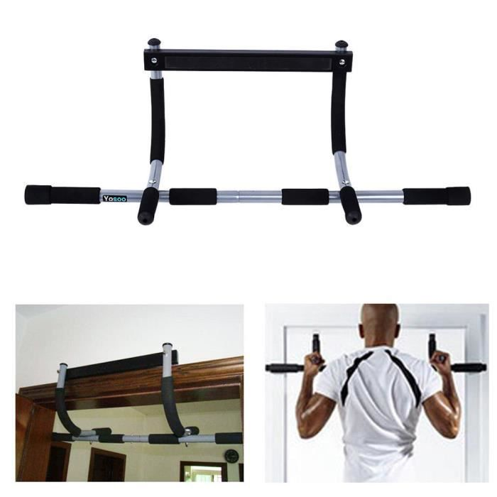 Barre Pull-Up Barre sur porte pour Pull-Upfitnes Charge max 100kg-TAM