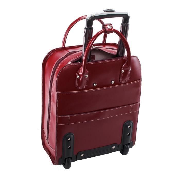 Valise Ou Bagage Vendu Seul UDWU6 Porte-documents à roulettes fourre-tout, en cuir, 15.6, - Uptown McKlein - 97696