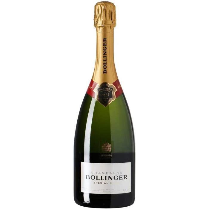 Bières, vins et spiritueux Bollinger Coffret Cadeau Special Cuvee Champagne 750 ml 5460