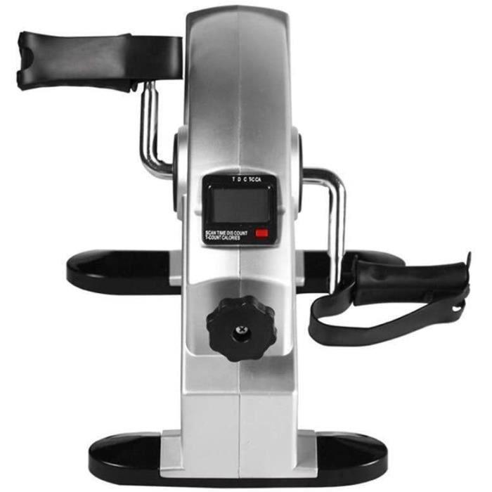 FIT BIKE AX-Dshan Mini &eacutelectrique exerciseur v&eacutelo, r&eacuteglable Bras Jambe Pliable Exerciseur à p&eacute148