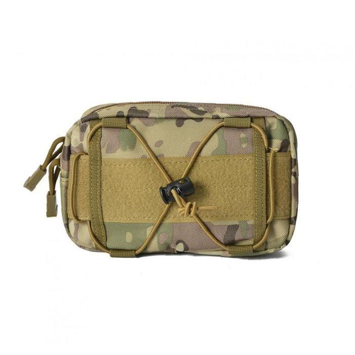 Sac de taille Sac multifonctionnel Bum sac banane Sac pour la randonnée Camping marche Camouflage
