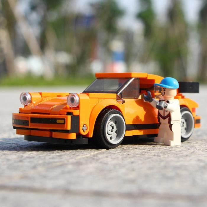 Sambo Racing enfants garçons célèbre Lego plug-in compatible modèle de voiture assemblage blocs de construction enfants garçons aime