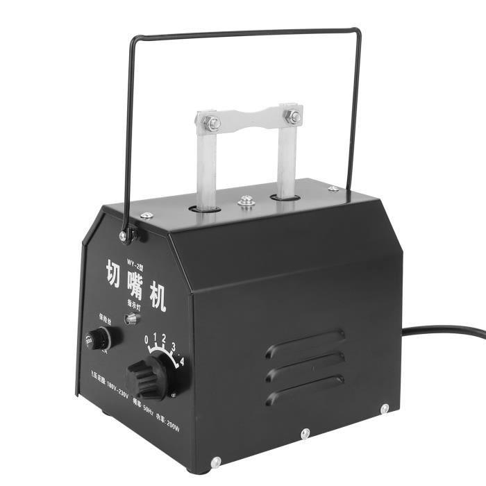 Atyhao Outil de coupe de bec de poulet Débiteur de Poulet Machine Électrique de Débeaking Coupe du Bec Automatique AU 220V