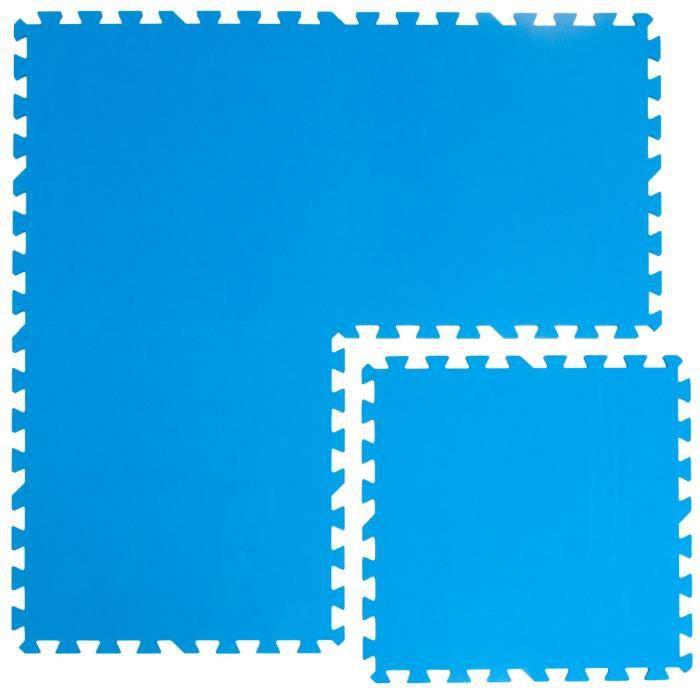 Tapis Puzzle EVA 50x50cm 1cm d'épaisseur imperméable extensible