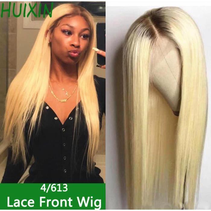 12Pouces Perruque Lace Front Ombre 4-613 Perruques Cheveux Humains Brésilienne silky straight