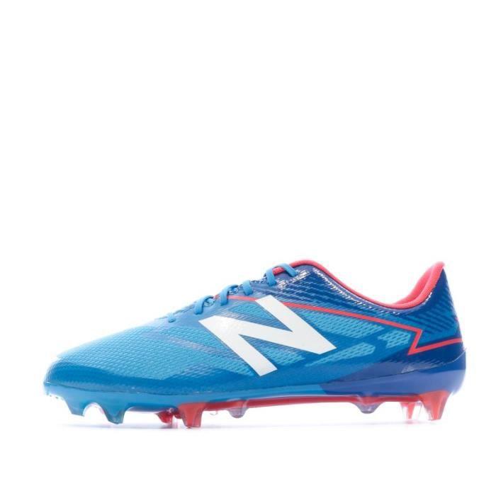 Furon 3.0 Mid Level FG Chaussures de football Bleu Homme New Balance