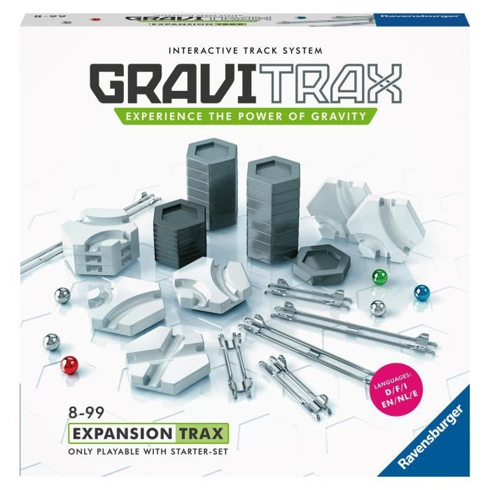 GraviTrax Set d'extension Trax / Rails