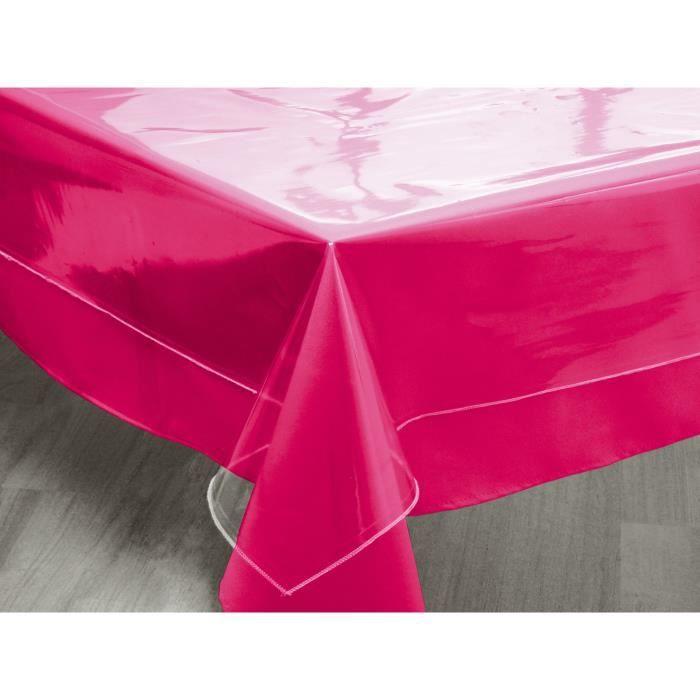 SOLEIL D'OCRE Nappe - Cristal - 160x300 cm - Transparent