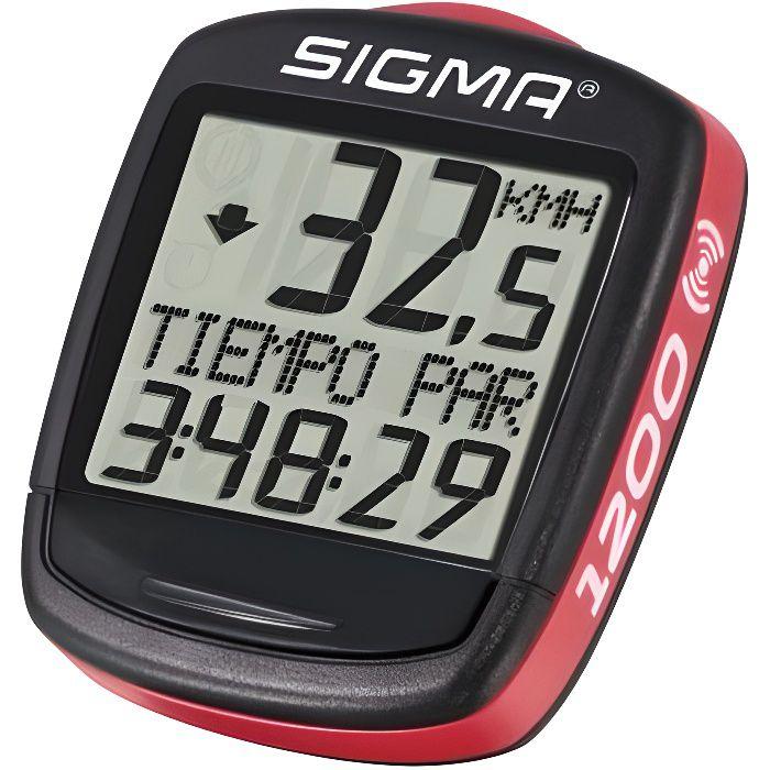 Compteurs vélo Sigma Baseline Bc 1200 Wl