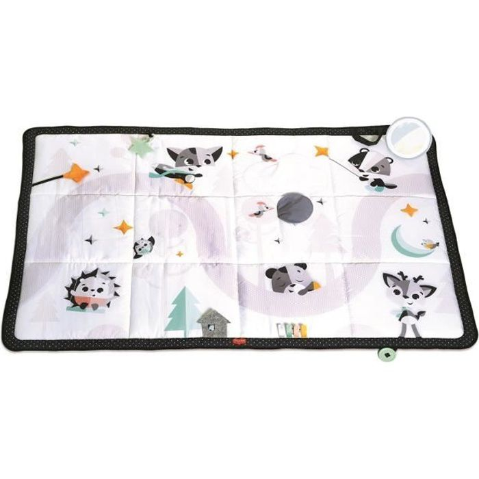 TINY LOVE Tapis d'eveil Géant Collection Magique Black and White