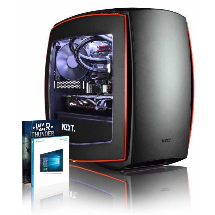 Vibox Atom Rm570 52 Pc Gamer Ordinateur avec War Thunder Jeu Bundle, Windows 10 Os (4,0Ghz Intel i5 6 Core Processeur, Msi Radeon Rx