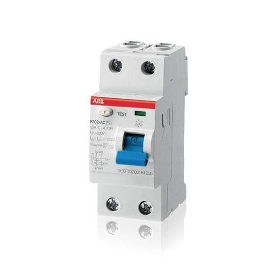 INTERRUPTEUR ABB 440043 - Interrupteur différentiel 25A 300ma t