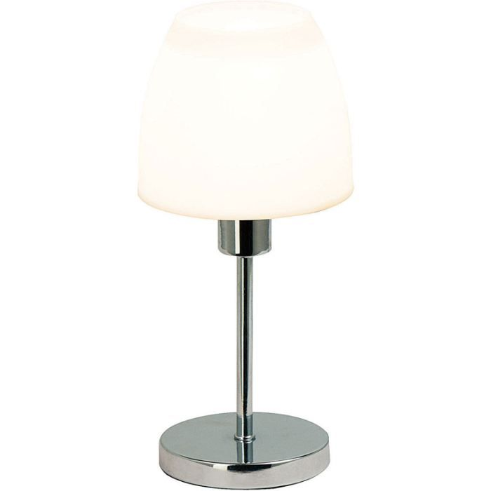 lampe de table blanche h26cm achat vente lampe de. Black Bedroom Furniture Sets. Home Design Ideas
