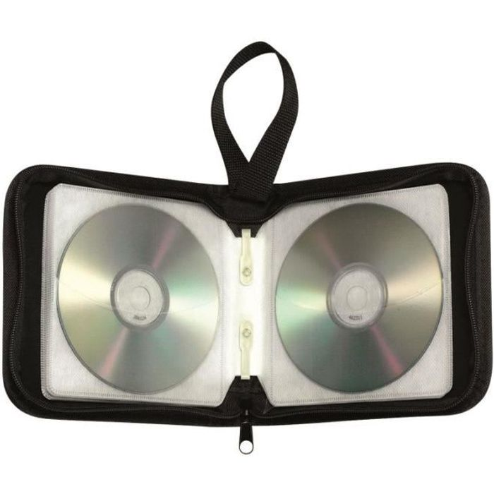 Pochette cd transport zipp e 40 cd achat vente range - Pochette range cd originale ...