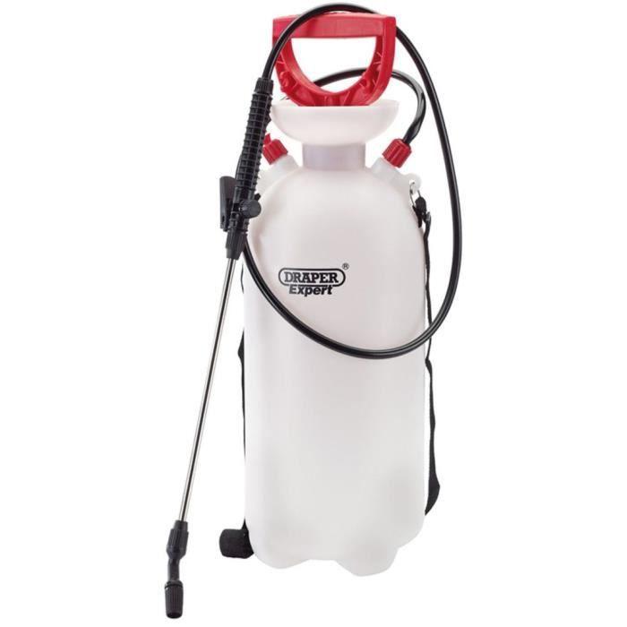 FAUTEUIL Draper Tools Pulvérisateur à pompe 10 L Rouge 8246