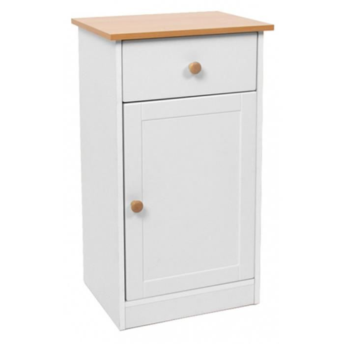 armoire commode de toilette avec une porte et t achat vente colonne armoire wc armoire. Black Bedroom Furniture Sets. Home Design Ideas