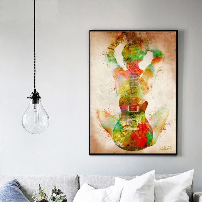 1pc Moderne Abstrait Imprimé Peinture à L Huile Mur Art Photo Pas De Cadre