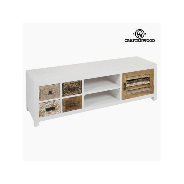 Meuble t l vision rabat by craftenwood achat vente for Meuble tv wooden art