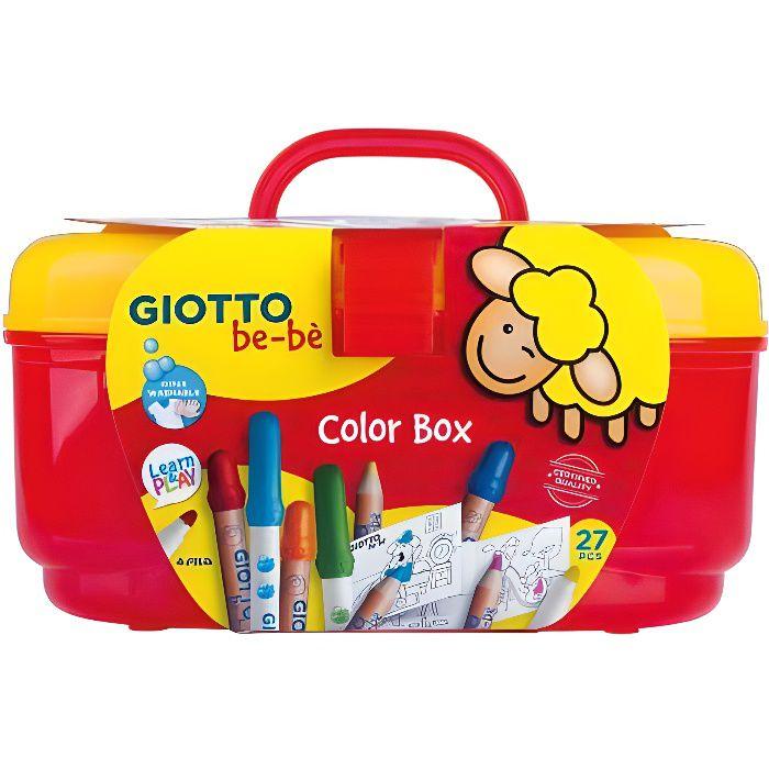 Giotto Boite De Coloriage Be Be Achat Vente Crayon De Couleur Boite De Coloriage Be Be Cdiscount