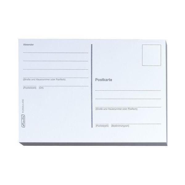 Cartes postales, format A6, 170 g/m2, blanc - Achat / Vente carte postale cartes postales ...