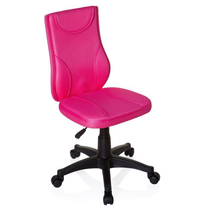 si ge enfant si ge pivotant kiddy base rose achat vente chaise de bureau rose cdiscount. Black Bedroom Furniture Sets. Home Design Ideas