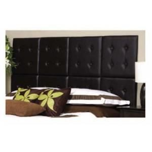 tete de lit en kit couleur marron achat vente t te de. Black Bedroom Furniture Sets. Home Design Ideas