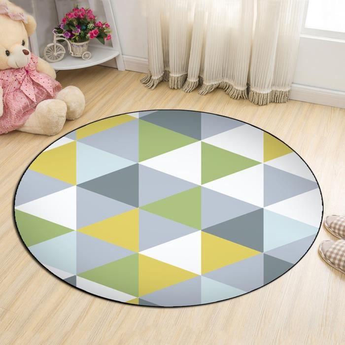 Tapis de sol de chambre à coucher moderne style bref modèle ...