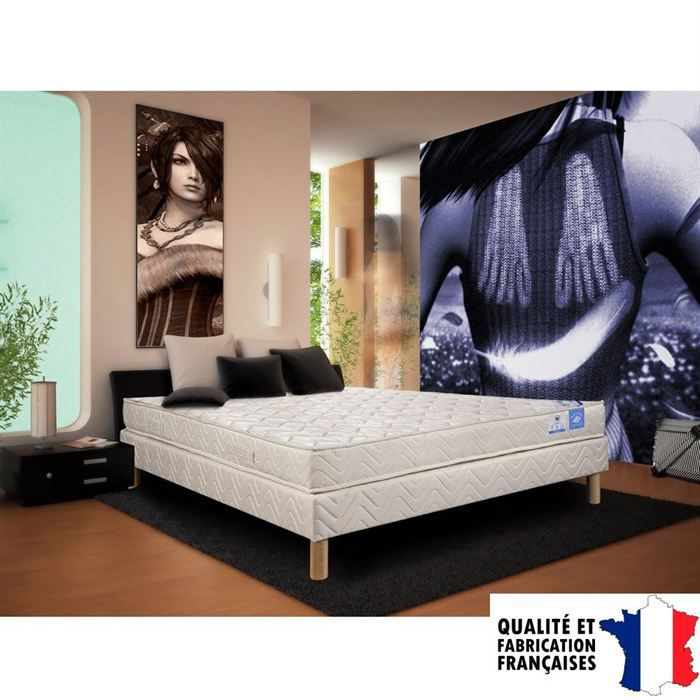 matelas belle literie 160x200cm 100 latex 5 zones moncornerdeco. Black Bedroom Furniture Sets. Home Design Ideas