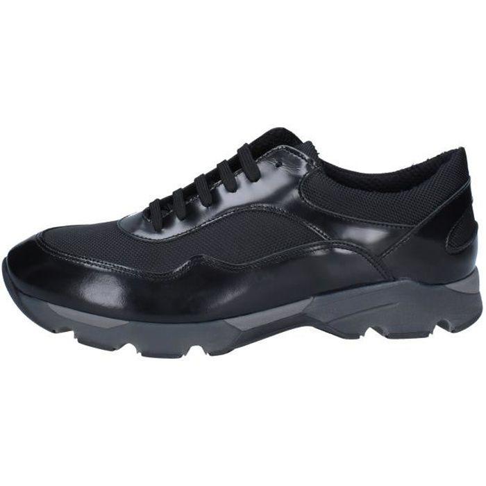 BALDININI Chaussures Homme Baskets cuir Noir BY537 Noir - Achat