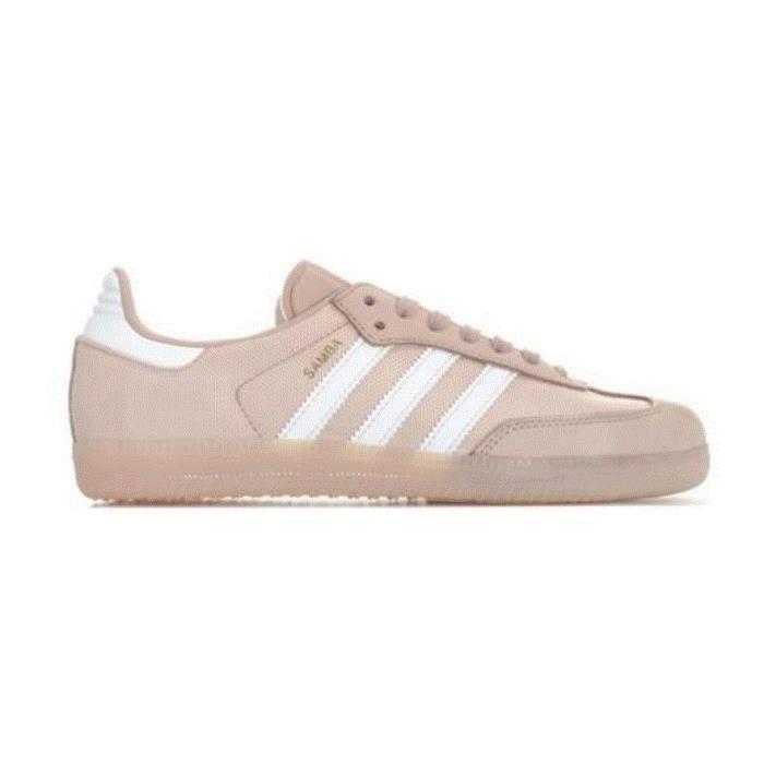 Baskets adidas Originals Samba pour femme en rose Beige ...