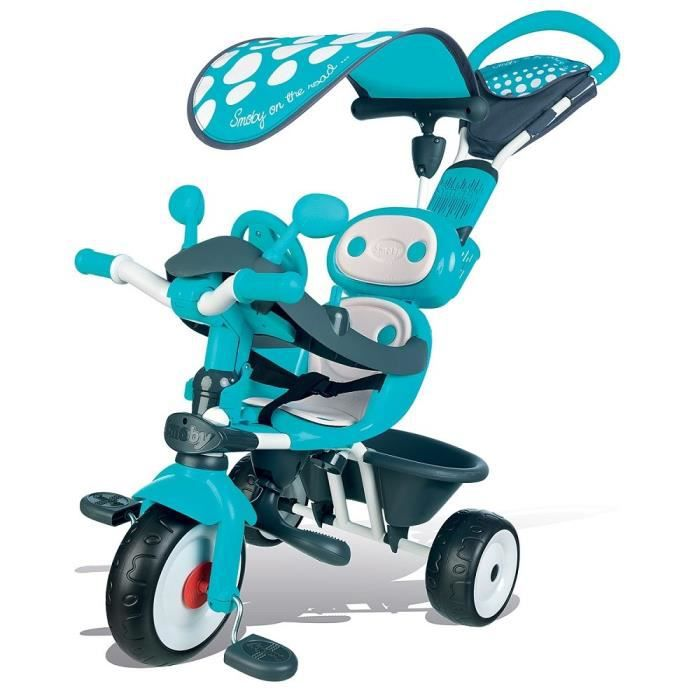 smoby tricycle baby driver confort bleu achat vente. Black Bedroom Furniture Sets. Home Design Ideas